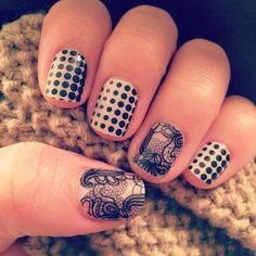 Progression & Black Lace Jamberry nails  Order yours here:  http://ashleeadams.jamberrynails.net/