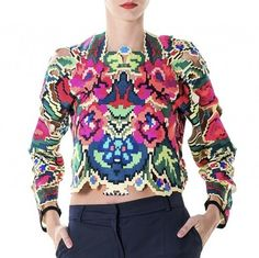 Lana Dumitru Doinita Laser Cut Top — Bora Bohème Ethical Fashion, Womens Fashion, International Fashion, Laser Cutting, Graphic Sweatshirt, Passion, Group, Board, Sweaters