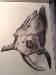 GCSE Sketchbook by Noah Walton Gcse Art Sketchbook, Sketchbook Ideas, Sketchbooks, Skulls, Moose Art, Fine Art, Natural, People, Inspiration