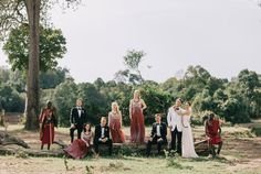 Incredibly Colorful Wedding at Governors Camp in Masai Mara, Kenya, Africa by Jonas Peterson