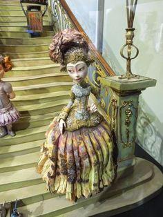 The Boxtrolls stop-motion Lady Portley-Rind figure