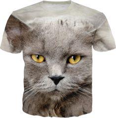 Funny Angry Cat T-Shirt  #erikakaisersot #rageon #tshirt #cats