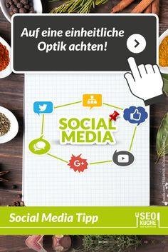 Achtet bei euren Social Media Profilen auf eine einheitliche Optik und bleibt bei einer Farbpalette. Nur so ist eine Wiedererkennung gewährleistet