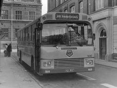linje 315 i Bramstræde i Helsingør 1974