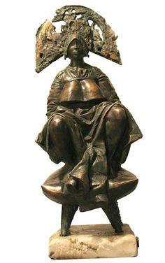 Alexander Mironov - Fall of the Emperi, Bronze, marble, Egypt, Lion Sculpture, Bronze, Statue, Marble, Fall, Autumn, Fall Season, Granite