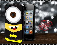 Phone Cases – Minions batman iphone 4/4S/5 case cover – a unique product by Reyes-Dawn- on DaWanda