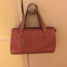 Fossil Handbag Good condition, some wear, a few stains, asking $40 but not firm, open to offers Fossil Bags Shoulder Bags