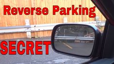 In this video, I show you the secret to reverse parking like a PRO. It is a simple driving lesson, and I show you how to use your side mirrors to reverse you. Parallel Parking Tips, Reverse Parking, Driving Teen, Driving Safety, Driving Basics, Driving Instructions, Drivers Ed, Life Hackers, Car Quotes