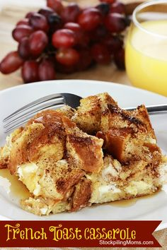 French Toast Casserole is perfect for Sunday breakfast or brunch! #breakfast