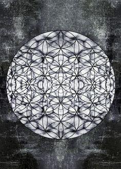 mandala sacred geometry meditation spiritual circle chakra psychedelic hinduism buddhism universe sp