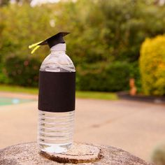 Bottled #water with cap for #graduation party