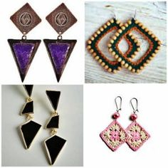 best earrings for round face!!! For more visit www.gracefulngorgeous.me