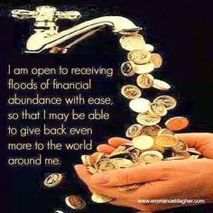 ✿ Abundance Everywhere. Law of Attraction at work. This is THE SECRET ✿ ✿ Attract Abundance in Love, Wealth and Health ✿ Guter Rat, Vision Boarding, Wealth Affirmations, E Mc2, Positive Thoughts, Quotes Positive, Positive Life, Law Of Attraction, Attraction Quotes