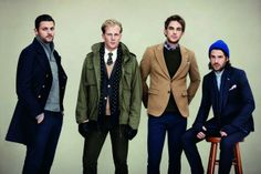 Team Fat Radish appears in Gant Rugger's latest fall campaign.