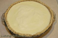 Egg Pie Recipe - Filipino Recipes from Lutong Filipino Egg Pie Recipe Filipino, Filipino Recipes, How To Make Eggs, Pie Pan, Pie Recipes, Baking, Desserts, Easy, Food