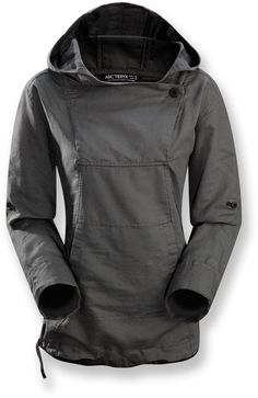 Need a no-cotton, no-zip hoodie. Arc'teryx C'esta Hoodie - Women's - Free Shipping at REI.com #trekkingoutfit