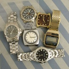 Vintage men's watches Movements Cases dials by helenaaleixoglamour, $9.50
