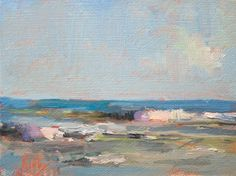 """Change in Tide"" original fine art by Randall Cogburn"