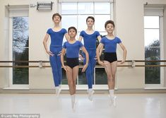 More boys are joining the Royal Ballet School in Richmond, London, thanks to the influence of films such as Billy Elliot and talent shows including Strictly Come Dancing and The X Factor. Male Ballet Dancers, Ballet Boys, Young Boys Fashion, Boy Fashion, Royal Ballet School, Beauty Of Boys, Billy Elliot, Dance World, Young Cute Boys
