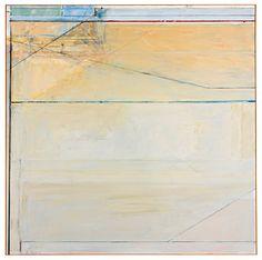 Richard Diebenkorn (1922 - 1993) Ocean Park #89, 1975