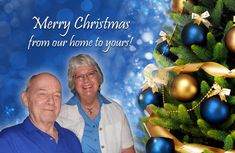 """Me and my """"Dreamy D"""" wish you and yours a very Merry Christmas!"""