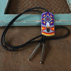 A personal favorite from my Etsy shop https://www.etsy.com/listing/276929426/native-american-jewelrybolo