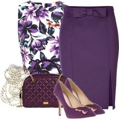 """""""Purple"""" by cavell on Polyvore"""