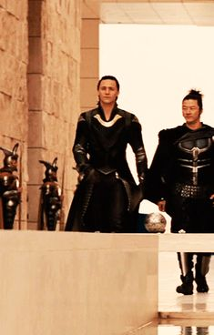 Just Tom Hiddleston — Team Thor (2011) & Team Thor: Ragnarok (2017)