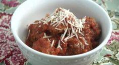 Sunday Slow Cooker: Italian Meatballs