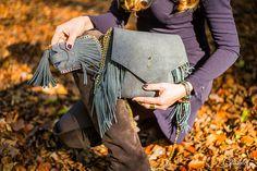 Fringe bag / Fransentasche by Cassinel