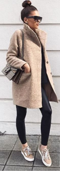 Comment porter le legging cuir