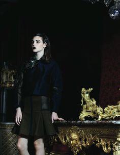Fashion Photography I black & gold I beauty @monstylepin
