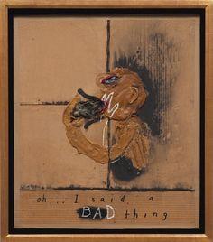 Oh...I Said A Bad Thing by David Lynch