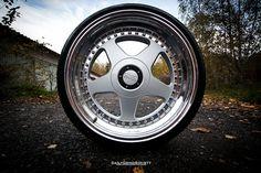 3 piece OZ Futura wheels