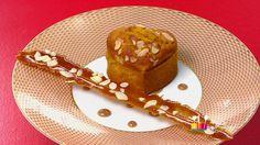 """- Dessert -  Anne Alassane vous propose son """"Millassou au potiron"""" inspiré par la recette de Noëlle """"Macarons à la crème de marron et aux éclats de marrons glacés"""""""