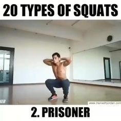 20 types of squats Squat Workout, Gym Workout Tips, Boxing Workout, Workout Routines, Tabata Workouts At Home, Fun Workouts, Office Workouts, Cardio Gym, Muscle Fitness
