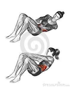 All About Abs – 66 Exercises in Pictures! Bodybuilding, Calisthenics & Yoga (Part - Page 3 of 4 - The Health Science Journal - Fitness Yoga Fitness, Fitness Home, Mens Fitness, Health Fitness, Fitness Shirts, Fitness Hacks, Fitness Quotes, Workout Fitness, Yoga Abs