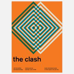 The Clash, 1981 17x23.75 now featured on Fab.