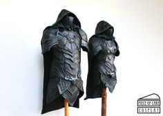 Nightingale Armors from Skyrim, May 2015. The set includes Nightingale Sword and Daedric Dagger. Made on commission. Visit us on: www.facebook.com/pieceofcakecosplay