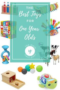 A round up of our favorite toys for that tricky month age. If simple toys that grow with your child are your jam, this one is for you. Montessori Toddler, Montessori Activities, Infant Activities, Toddler Toys, Activities For Kids, One Year Birthday, Thing 1, Musical Toys, One Year Old
