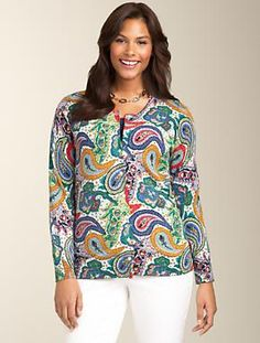 Talbots - Floral Cardigan | Sweaters | Misses | Thinking TOP ...