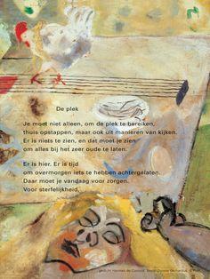 gedicht: Herman de Coninck / beeld: Donnie Gerhardus ⓒ plint  No altijd een van de beste gedichten...
