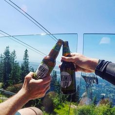 #Cheers to long weekends adventures with friends and the great outdoors! @granvillebeer #infamousipa #beer #adventure #trailrunning #hiking #friends #getoutside #explorebc