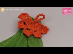 Crochet Leaf Towel Topper - The Crochet Crowd. How about this one @kaije ?