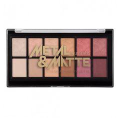 Australis Metal & Matte Eyeshadow Palette | Christmas Gift Guide, Christmas Gift Ideas, Christmas beauty gift, beauty