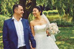 Bruidsfotografie in Avifauna met Sena en Eren