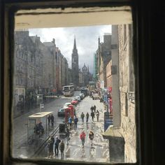 Edinburgh, The Royal Mile - picture is from the window of John Knox House