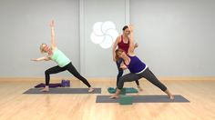 #Yoga Work on building #core strength from just below the chest to just above the knees and all around the body. Recommended props: 2 blocks, 1 blanket<br/><br/>36:43 Minutes