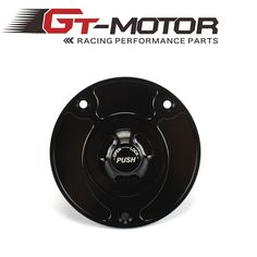 GT Motor - Motorcycle New CNC Aluminum Fuel Gas CAPS Tank Cap tanks Cover With Rapid Locking For SUZUKI SV650 SV1000 GSXR650 750