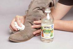 Fläckar på skor – husmorsknepen som räddar dina skor